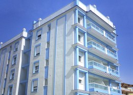 empresa de pintura de fachadas exterior